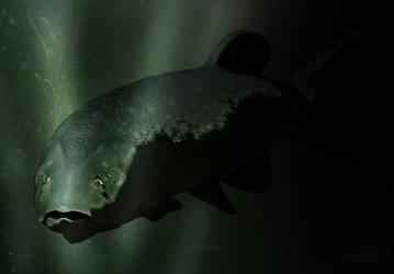 pike underwater by sKodOne
