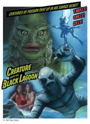 Creature From the Black Lagoon illustration by SteveStanleyArt