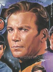 Star Trek: Captain Kirk by SteveStanleyArt