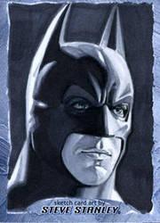Batman-Christian Bale-Sketchcard by SteveStanleyArt