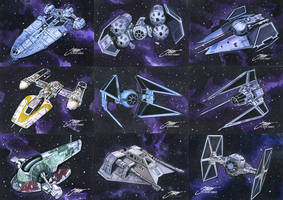 Star Wars: Full of Ship by SteveStanleyArt