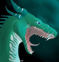 Teal Hunter by Galaxy-Squid