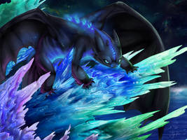 Toothless by Galaxy-Squid