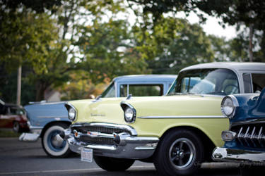 Classic Cars Chevy Bel Air by Charlief43