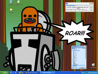 roaring good desktop by wetflame