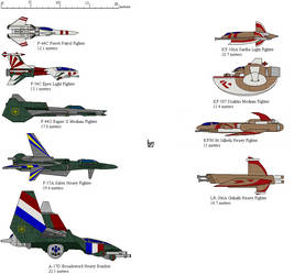 Wing Commander 2 Fighters-recolor by Vulpes-Sapien