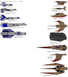 Wing Commander 3 Fighters by Vulpes-Sapien