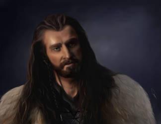 Thorin Oakenshield (The Hobbit) by Tsuhikari