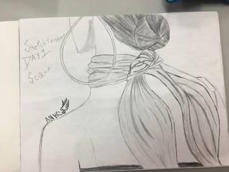 Sketchtember 2018 backlog day 1 by CraneRelmaraVaerun