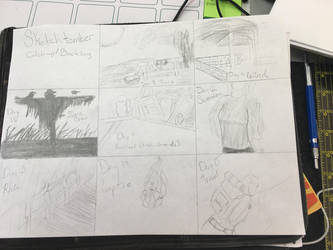 Sketchtember day 8 - 15 backlog by CraneRelmaraVaerun