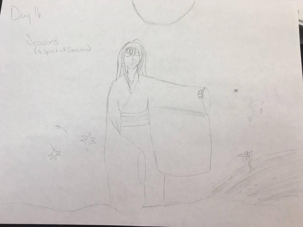 Sketchtember day 16 Seasons by CraneRelmaraVaerun