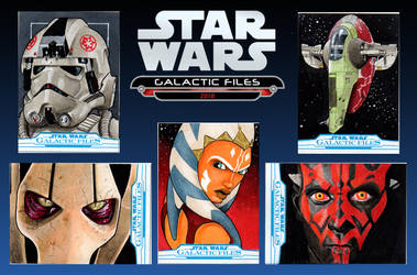 Star Wars Galactic Files Officially Licensed Art by amines1974