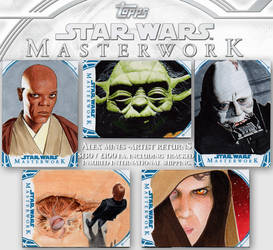 Star Wars Masterworks 2018 Officially Licensed Art by amines1974