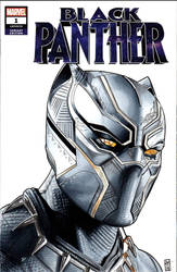 Black Panther Sketch Cover by amines1974