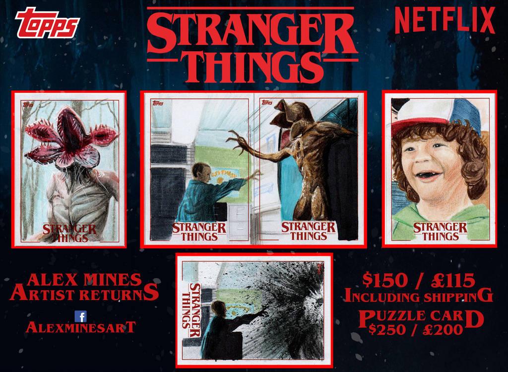 Stranger Things Artist Returns by amines1974