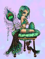 Peacock Princess By Jadedragonne Reloaded by Suiish