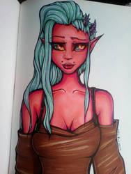 Demoness by Suiish