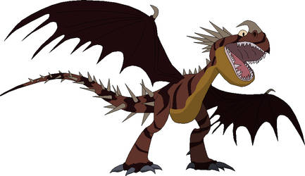 HTTYD OC Character Bowspine by J-T-H-O-S-123