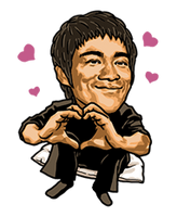 Bruce-Lee-Stickers-765178 by kjlgy