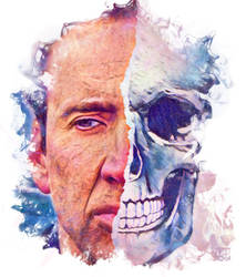 Nicolas Cage ghost rider by kjlgy