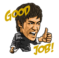 Bruce-Lee-Stickers-765149 by kjlgy