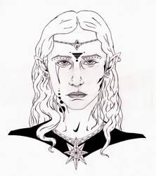 Stone Elf by blackcross