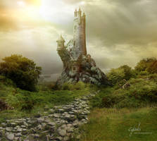 Sorcerer's fortress - sunny version by cylonka