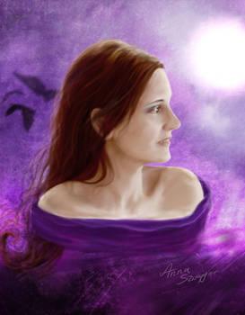 Velvet - portrait - ver.2 by cylonka