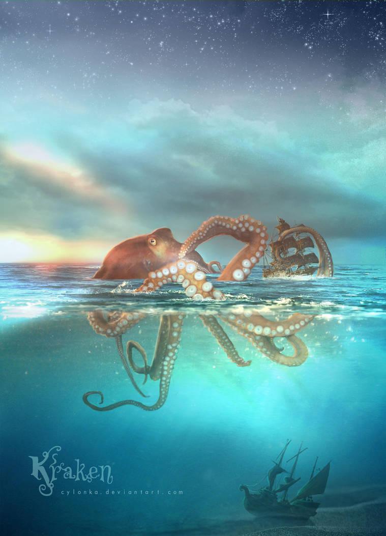 Kraken by cylonka