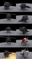 Robots by ChickenSlaveDriver