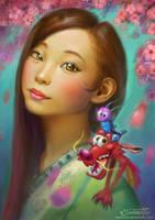 Mulan Fanart by Maximko