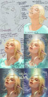 Feeling Alive Elf Girl - WIP by Maximko