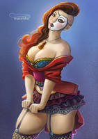 Yana - Pinup by Maximko