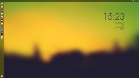 Ubuntu 14.04 LTS by M1GHTYTUGA