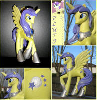 Custom Pluto Alicorn by FallSilently