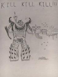 Evil Robot by RazesHellFanboy
