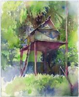 The old dovecote by OlgaSternik