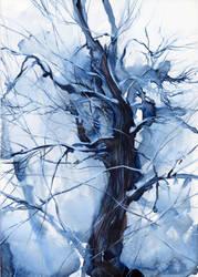 Winter tree by OlgaSternik
