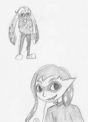Inkling Doodles by Zichqec