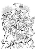 World of Warcraft: Tauren Love by ippylovesyou