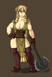 Karayne Heavyhammer by Shardanic