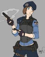 Super Jill by Shardanic