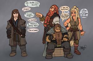 How is Kili a Dwarf? by Shardanic