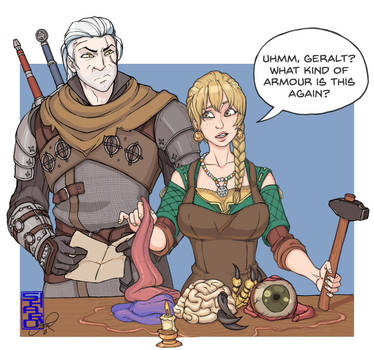 Witcher Armour by Shardanic
