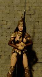 Custom Roman Warrioress Athena 3 by billvolc