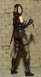 Custom Kunoichi Rin 3 by billvolc