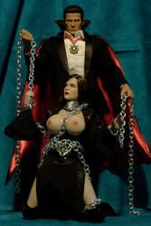 Dracula and Boobirella by billvolc