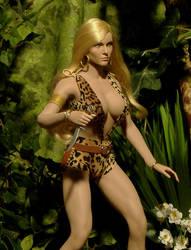Custom Jungle Queen: Sheena 2 by billvolc