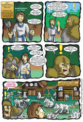 WORLD OF WARCRAFT COMIC by Eggplantm