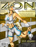 MARILYN ZON COVER by Eggplantm